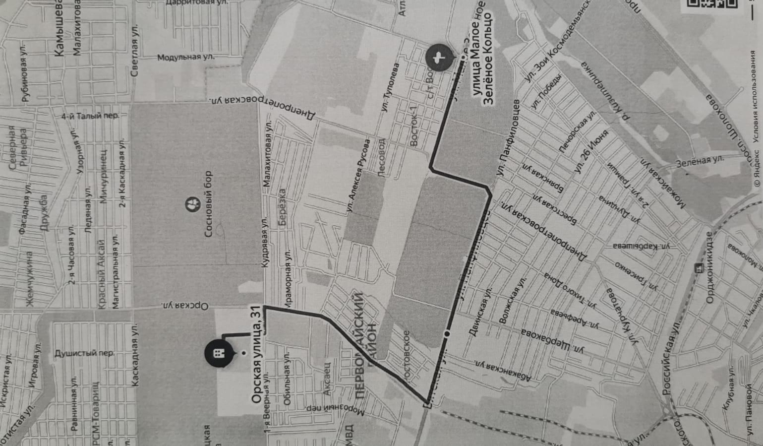 карта проезда ДХТ